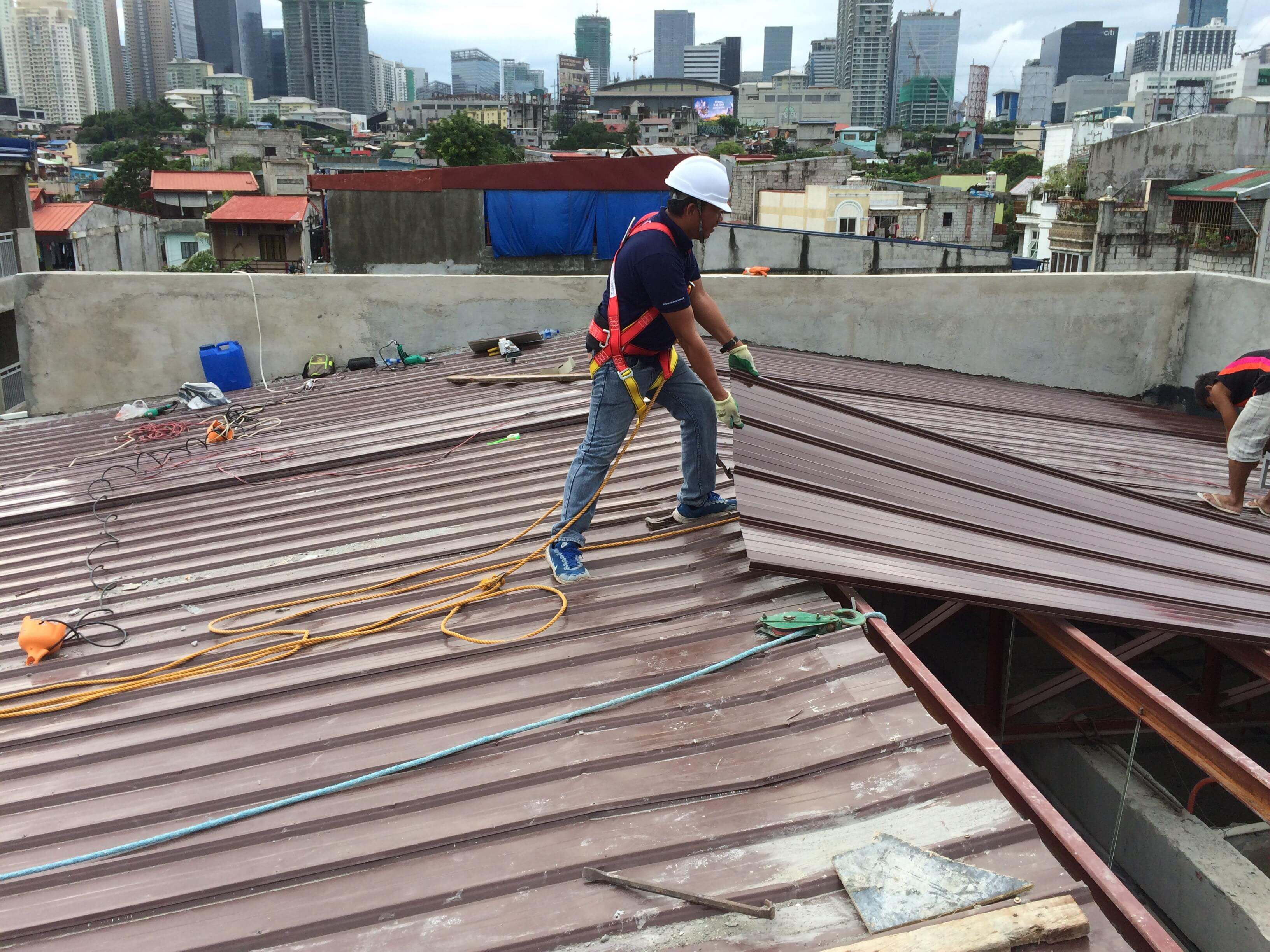 Rib Type Roof Alpha Steel Roofing Supplier With